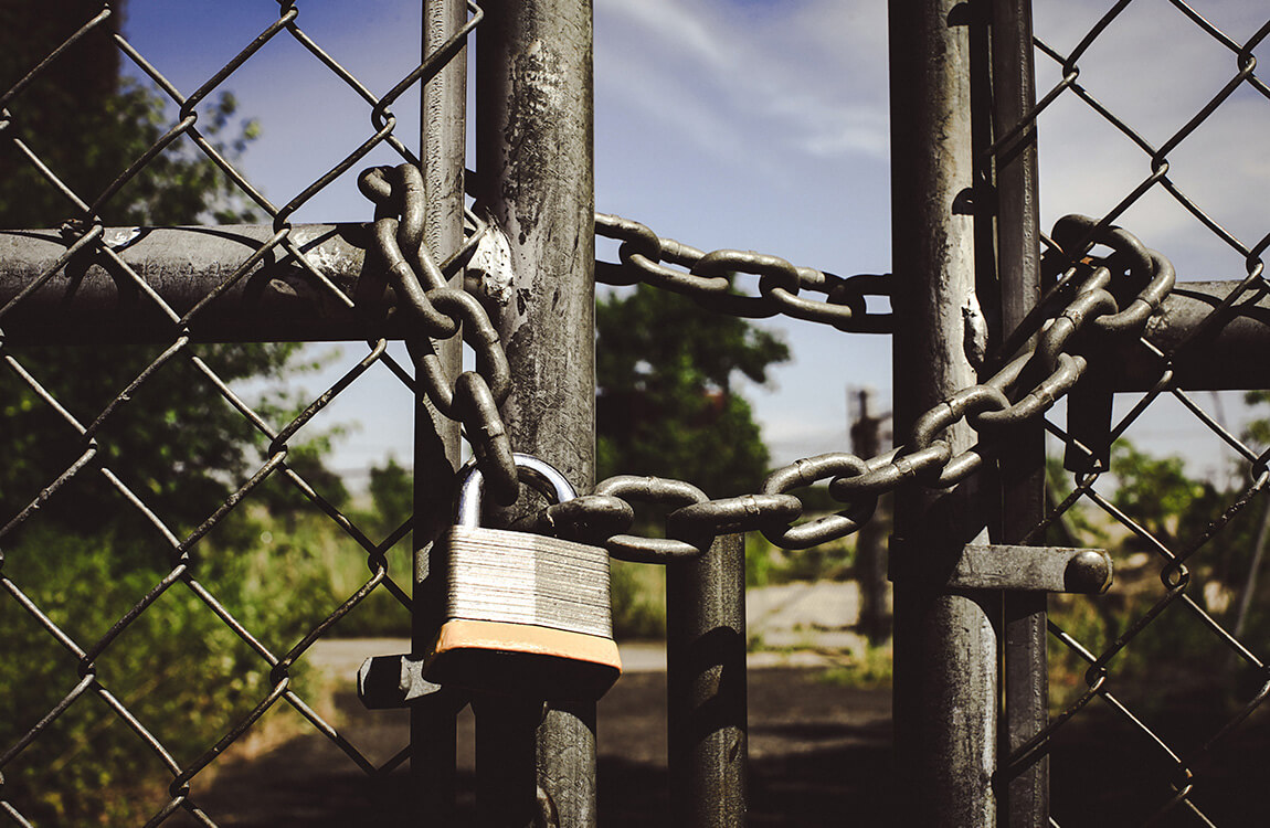 Locked-gate